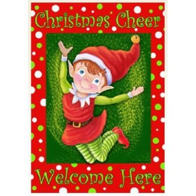 christmas elf christmas cheer