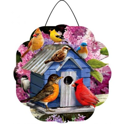 Hang Aound Songbird Birdhouse-Hang Around
