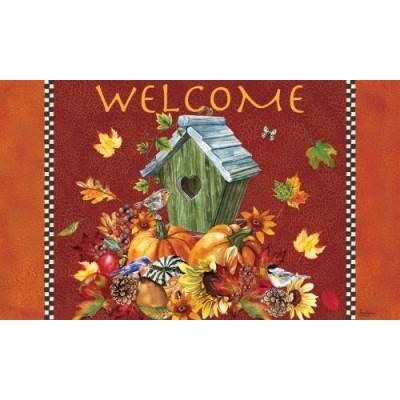 Autumn Birdhouse