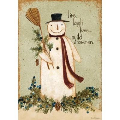 Build Snowmen