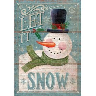 Let It Snowman by Jason Bennion