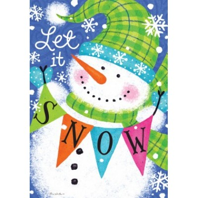 Snow Banner by Tina Wenke