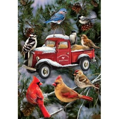 Bird Feeder Truck by Greg Giordano