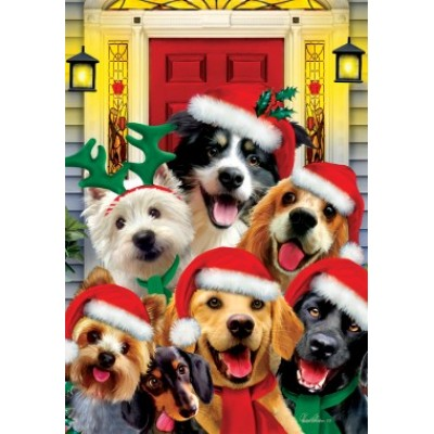 Christmas Dogs by Howard Robinson
