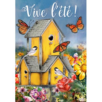Vive l'été Cabane Jaune /disponible février 2020