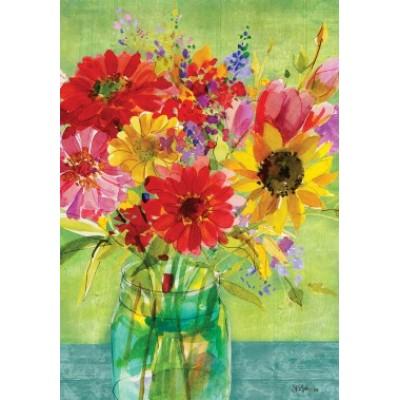 Watercolor Wildflowers by Sue Zipkin