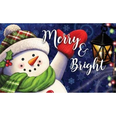 Merry & Bright Snowman