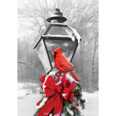 Cardinal Lamp Post
