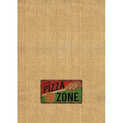Tea Towel 100%  Cotton  Pizza Zone