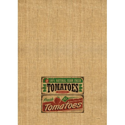 Tea Towel 100%  Cotton  Tomatoes