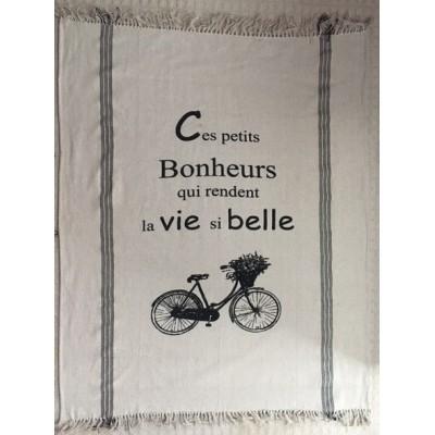 Jetté Décorative Ces Petits Bonheurs..