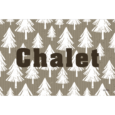 Coussin fait de   polyester pour l'intérieur ou l'extérieur / Chalet /Pre-booking hiver 2021-22 produits Lucies
