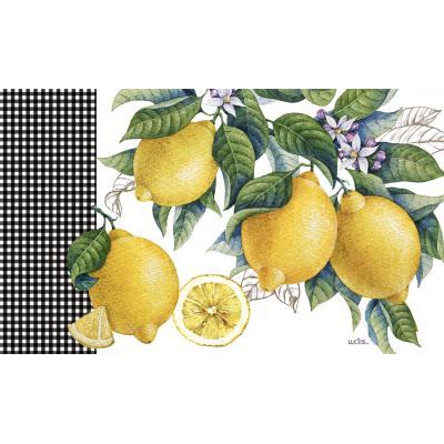 Tapis intérieur extérieur/Citrus Limon /Disponible Mars Avril 2020