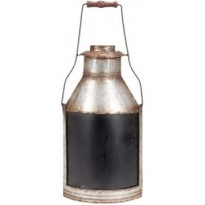 Caniisse a lait avec tableau noir  8.25x2.5x21