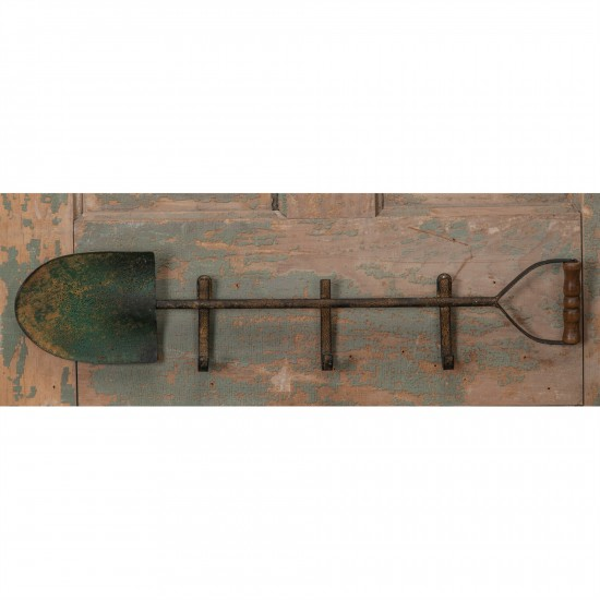 23.75X1.75X5.25''h Metal 3-hook Shovel