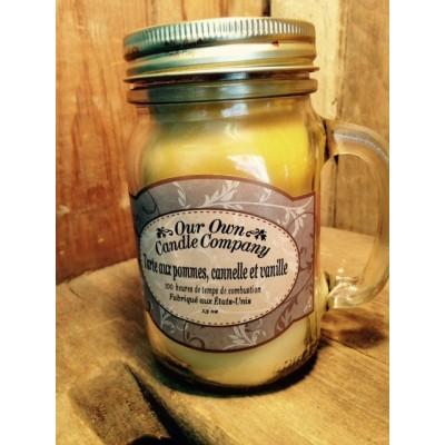 Tarte aux pommes cannelle et vanille
