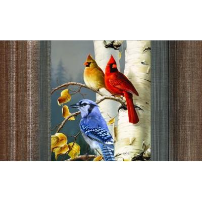 Tapis intérieur extérieur/ Oiseaux de chez nous/Nouveauté-hiver -Pre-booking 2021-22
