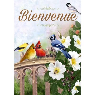 Oiseaux Sur La Clôture