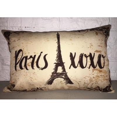 Pillow  Paris X0X0