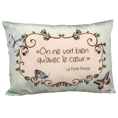 Coussin fait de   polyester pour l'intérieur ou l'extérieur / Le Petit Prince