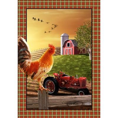 Tracteur & Coq