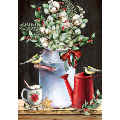 """Bouquet champêtre d""""hiver - Nouveauté-hiver -Pre-booking 2021-22"""