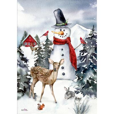 Bonhomme au chalet- Nouveauté-hiver -Pre-booking 2021-22