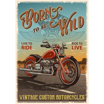 Born To Be Wild /Pre-booking 2021 en stock
