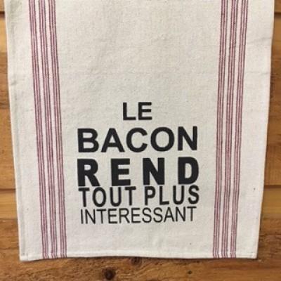 Le Bacon rend tout plus intéressant