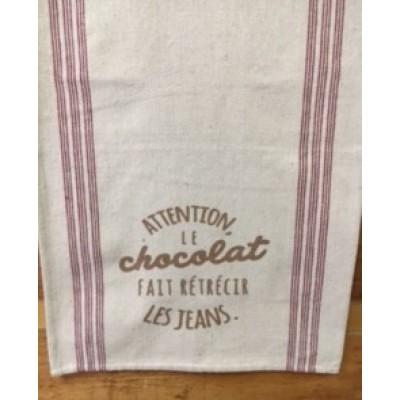 Attention Le chocolat fait rétrécir les jeans